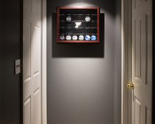 "LED Can Light Retrofit for 5"" to 6"" Fixtures - 150 Watt Equivalent - LED Eyeball Can Light Conversion Kit - Dimmable: Aimed at Display Case in Hallway"