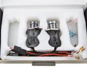BMW LED Angel Eye Replacement Kits - BMW E90 CREE 10W LED: In Box