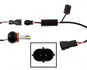 BMW LED Angel Eye Replacement Kit - BMW CREE LED - 40 Watt H8: How To Connect Kit