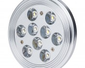 LED AR111 Flood Lamp - 9x1W LEDs