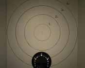 LED AR111 Spot Lamp - 12 Watt COB LED: LED On Beam Pattern Target From 10 Feet