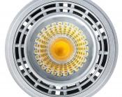 LED AR111 Spot Lamp - 12 Watt COB LED: Front View