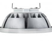 LED AR111 Spot Lamp - 12 Watt COB LED: Profile View