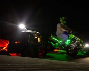 ATV & UTV - Color Changing Weatherproof RGB LED Glow Strip Accent Lighting Kit: Installed on ATVs