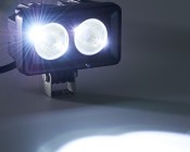 "4"" Dual LED Mini Auxiliary Work Light - 20W"