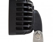 """LED Auxiliary Light - 6"""" Rectangular 24W Heavy Duty Off Road Driving Light: Profile View"""