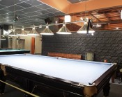 BR40 LED Bulb - 18 Watt - Dimmable LED Flood Light Bulb: Installed in Fixtures Above Billiards Table