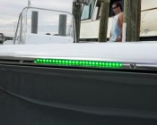 12 Inch 24 White RV LED Tube Light - RV and Boat LED Lights: Customer Submitted Photo of Light Installed on Boat