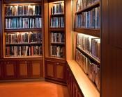 Aluminum LED Light Bar Fixture - O Shape Book Shelf