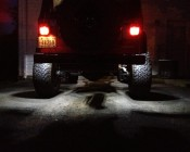 Multi-Function LED Box Tail Lamp w/ License : Light: Installed On Jeep Wrangler