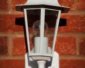 LED Decorative Filament A19 Bulb Porch Light