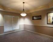 """LED Can Light Retrofit for 4"""" Fixtures - 10W Gimbal Can Light Conversion Kit: Shown Installed In Ceiling Fixtures And On."""