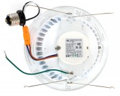 "LED Can Light Retrofit for 6"" Fixtures - 13W LED Can Light Conversion Kit: Back View."