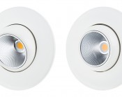"LED Can Light Retrofit for 5"" to 6"" Fixtures - 85 Watt Equivalent - LED Eyeball Can Light Conversion Kit - Dimmable: Comparison View"