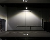 LED Canopy Lights - 60W - Natural White - Flush Mount or Surface Mount - Square Beam Pattern: Beam Comparison.
