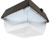 LED Canopy Light and Parking Garage Light - 100W High Power LED - Natural White