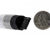 7440 LED Bulb w/ Reflector Lens - 1 High Power LED - Wedge Retrofit: Back View