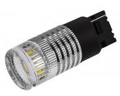 7440 LED Bulb w/ Reflector Lens - 1 High Power LED - Wedge Retrofit