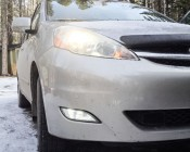 Fog lights on a Toyota Sienna <br> (thanks for this customer upload!)