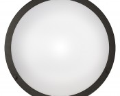 """16"""" Dimmable LED Flush Mount Ceiling Light: Front View"""
