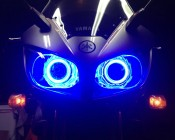 Motorcycle Headlight Accents