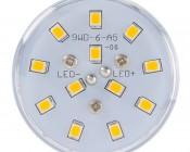 LED Corn Light - 105W Equivalent Incandescent Conversion - E26/E27 Base: Front View.