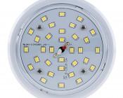 LED Corn Light - 320W Equivalent HID Conversion - E39/E40 Mogul Base: Front View