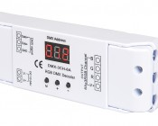 DMX Decoder for LED DMX Controllers with Address Digital Display - 3 Channel, 6A