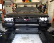 "3.25"" Round 12W Heavy Duty High Powered LED Work Light - Black: Custom Installed In Customer Vehicle"