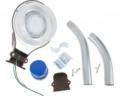 LED Dusk to Dawn Security Light w/ Mast Arm - 50W - Natural White: All Components Included