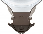 LED Dusk to Dawn Security Light w/ Mast Arm - 50W - Natural White: Junction Box Mount