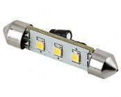 6451 LED Bulb - 3 SMD LED Festoon - 42mm