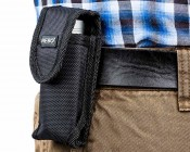 6032 Flashlight Holster: Attaches To Belt For Easy Flashlight Access