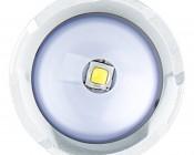 LED Flashlight/Work Light - NEBO SLYDE+ - 300 Lumens: Front View