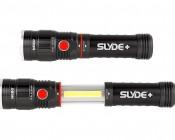 LED Flashlight/Work Light - NEBO SLYDE+ - 300 Lumens: Profile View