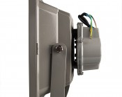 High Power 50W LED Flood Light Fixture: Profile View