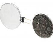 G4 LED Bulb - 1 Cree LED - Bi-Pin LED Disc: Back View.