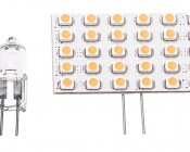 G4 LED Bulb - 30 SMD LED - Bi-Pin LED Rectangular Bulb