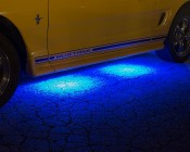 LED Ground Effect Lighting Kit - 8 LED Light Modules: Shown In Blue