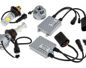 LED Headlight Kit - 9004 LED Headlight Bulbs Conversion Kit: All Included Pieces