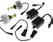 LED Headlight Kit - HB4 (9006) LED Headlight Bulbs Conversion Kit: All Included Parts