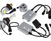 LED Headlight Kit - 9007 LED Headlight Bulbs Conversion Kit: All Included Parts