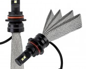 LED Headlight Kit - 9007 LED Headlight Bulbs Conversion Kit with Flexible Tinned Copper Braid