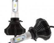 LED Headlight Kit - 9006 LED Fanless Headlight Conversion Kit with Compact Heat Sink