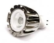 1 Watt White LED MR11 bulb