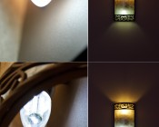 E12-xW32-x <Br> (top) Frosted bulb in Warm White and Cool White <Br> (bottom) Clear bulb in Warm White and Cool White