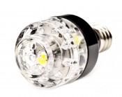 Candelabra Base Bulb, 2 Natural White LEDs