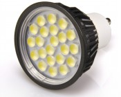 White 5 Watt LED GU10 Bulb