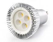 Dimmable LED GU10 bulb