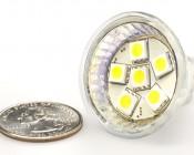 6 High Power LED MR11 Bulb